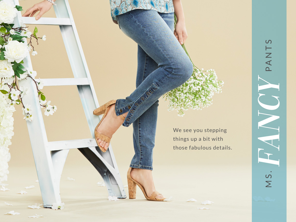 We see you stepping things up a bit with those fabulous details.