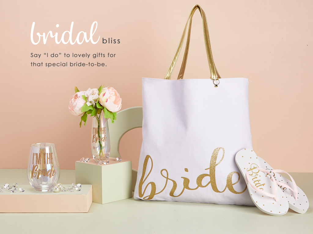 Bridal Bliss - Say I do to lovely gifts for that special bride to be.