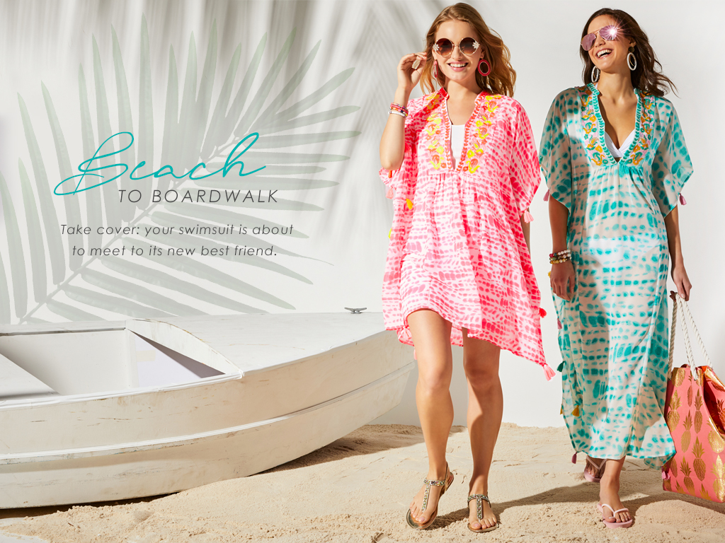 Beach To Boardwalk - Your swimsuit is about to meet its new best friend.
