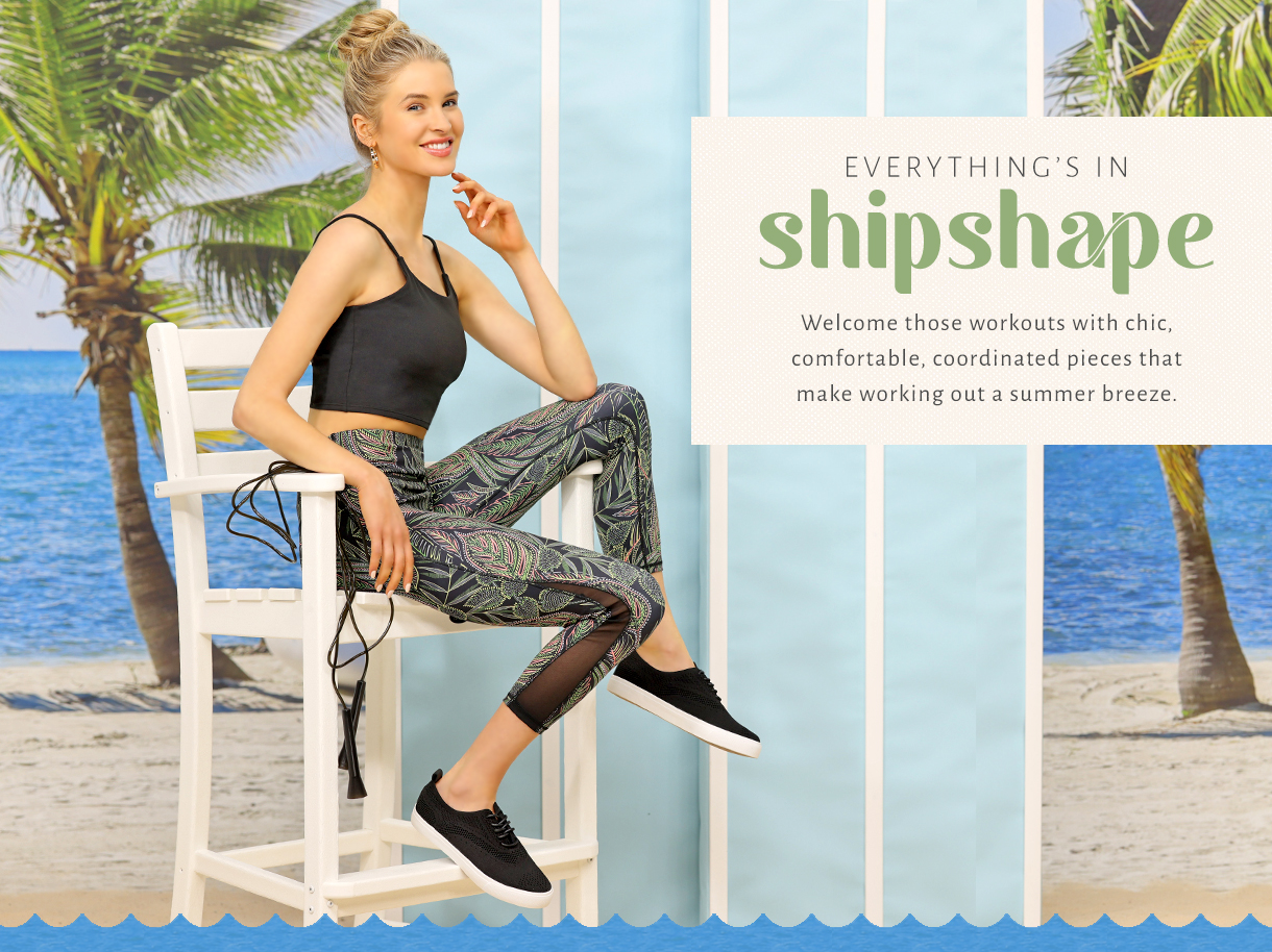 Welcome those workouts with chic, comfortable coordinated pieces that make working out in summer a breeze.