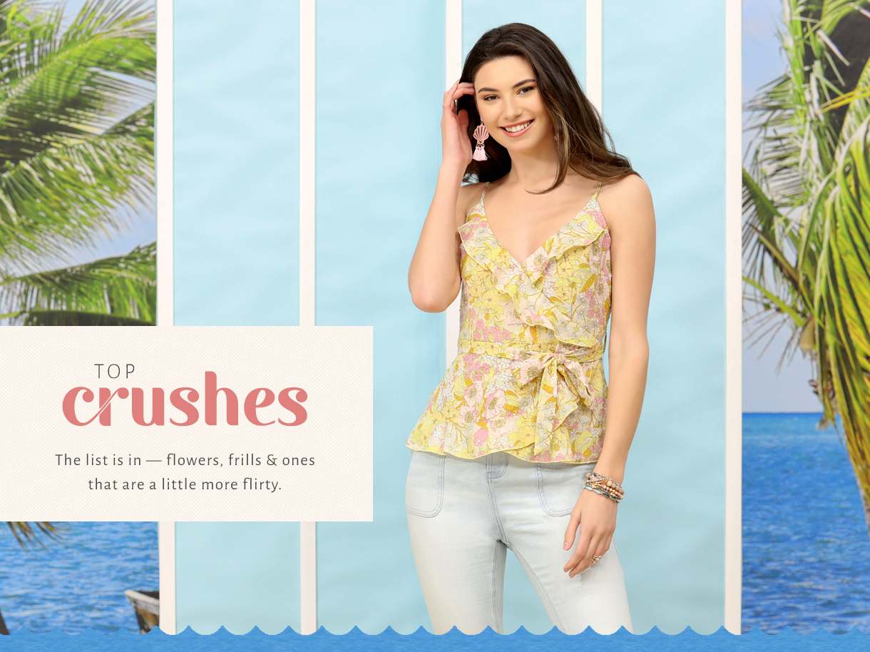 The list is in - flowers, frills and ones that are a little more flirty.