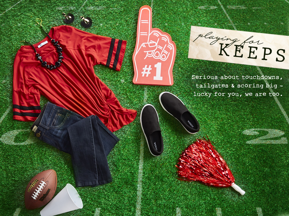 Serious about touchdowns, tailgates and scoring big - lucky for you, we are too.