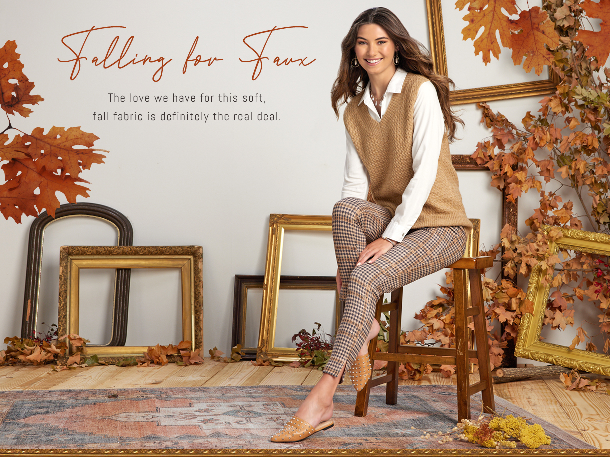 The love we have for this soft, fall fabric is definitely the real deal.