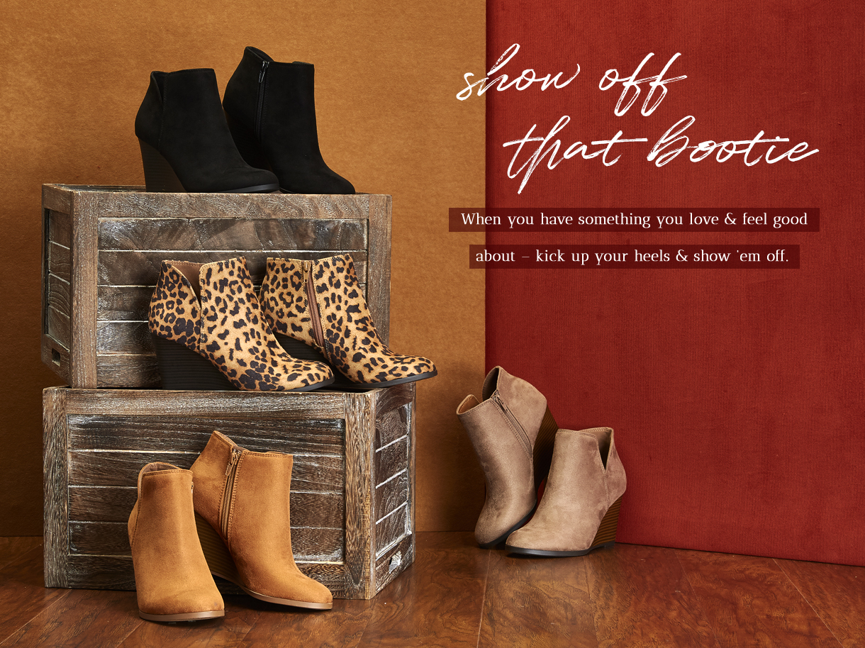 When you have something you love and feel good about - kick up your heels and show them off.