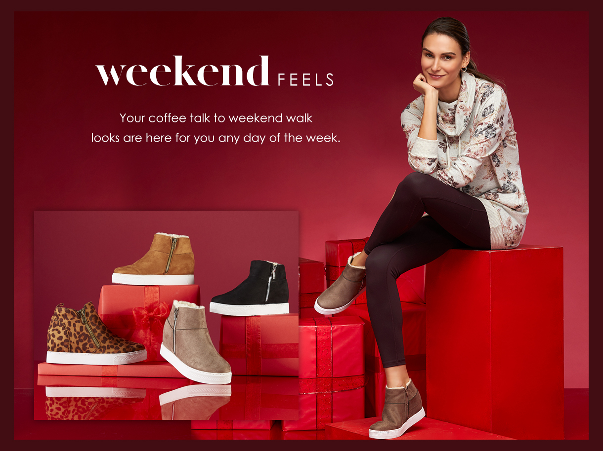 Your coffee talk to weekend walk looks are here for you any day of the week.